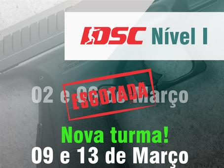 Nova Turma - IDSC Nível I