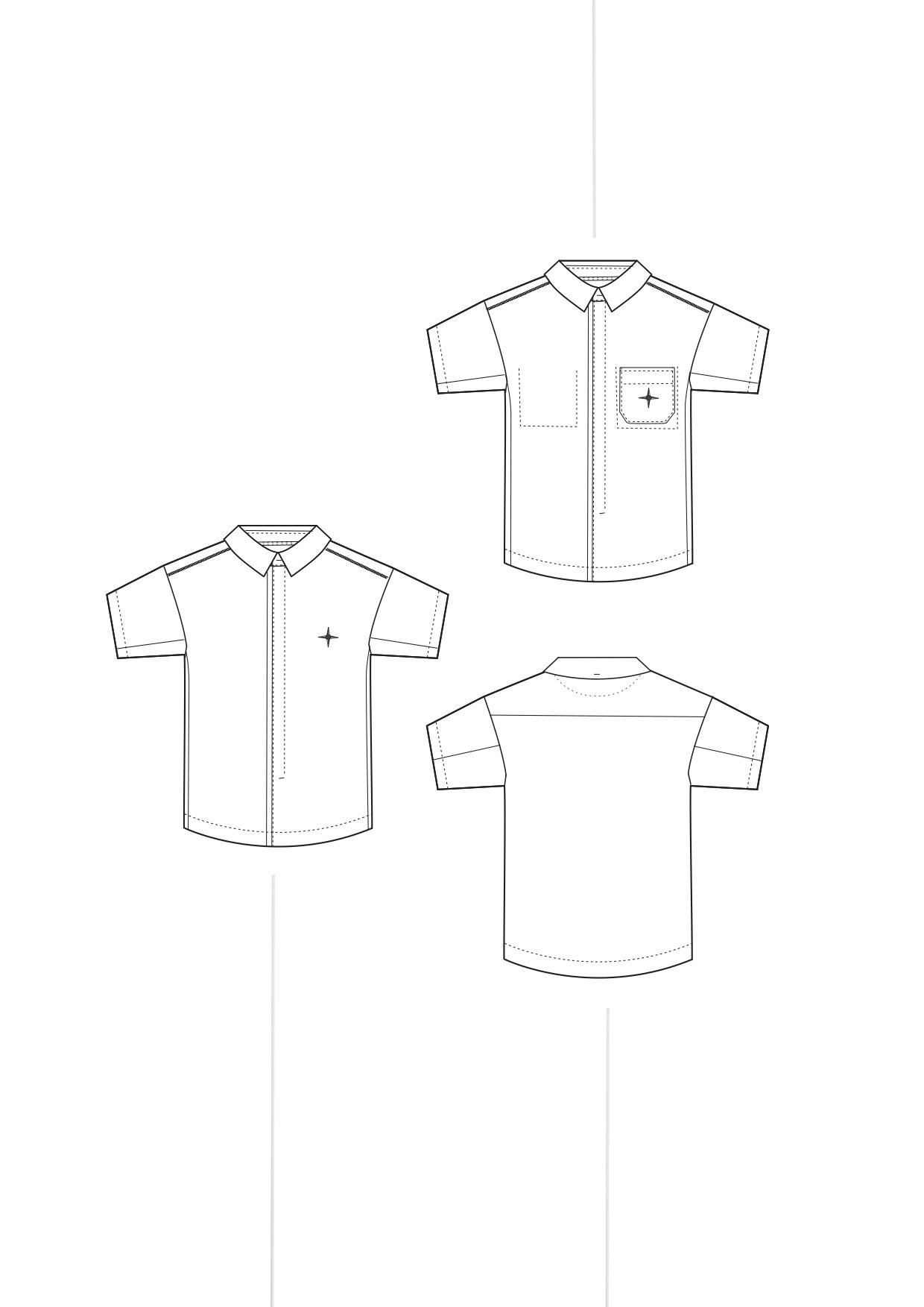 shirt short basic