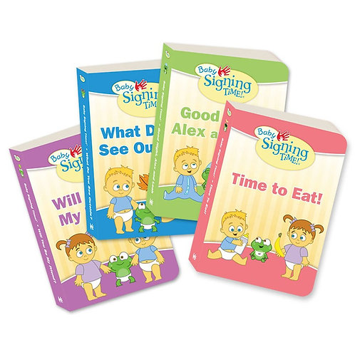 Baby Signing Time Books 1-4