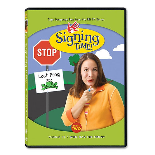 Series Two Vol. 13: Who Has the Frog? DVD