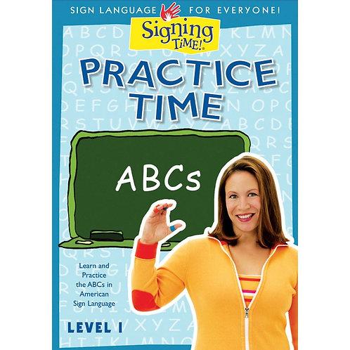 Practice Time ABCs DVD