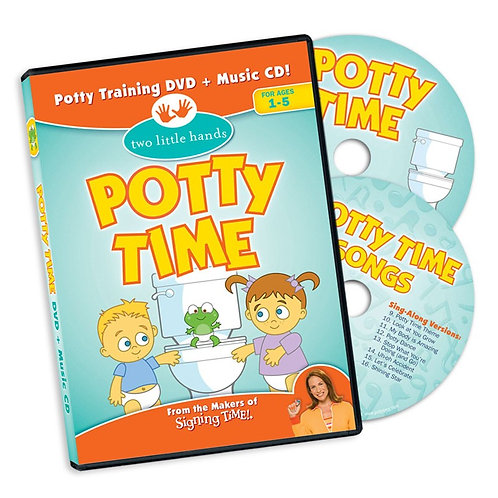 Potty Time DVD/CD