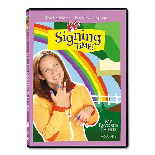 Vol. 6: My Favorite Things DVD