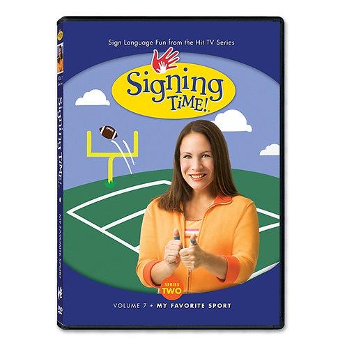 Series Two Vol. 7: My Favorite Sport DVD