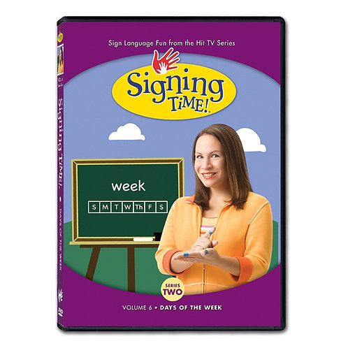 Series Two Vol. 6: Days of the Week DVD