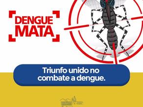 A Vigilância Epidemiológica de Triunfo divulga Índice de Infestação Predial para o mosquito Aedes ae