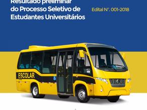 Prefeitura de Triunfo divulga resultado preliminar de Processo Seletivo de Estudantes Universitários