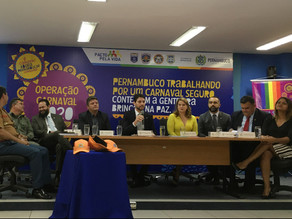 Carnaval 2020 terá mais de 40 mil lançamentos policiais nas ruas de Pernambuco