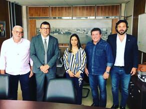 Prefeitos de Triunfo e Serra Talhada e Rodrigo juntos pela PE 365