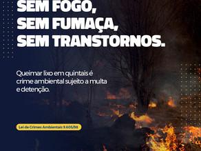 Sem fogo, sem fumaça, sem transtornos!