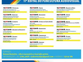 Quinze municípios recebem oficinas gratuitas sobre o edital do Funcultura Audiovisual