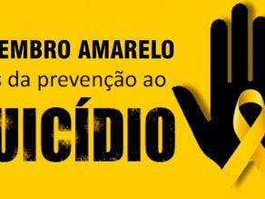 Setembro Amarelo, mês de prevenção do suicídio