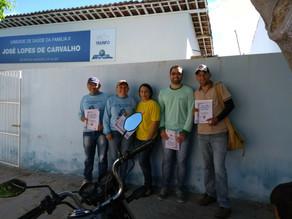 Agentes de combate a endemias e agentes comunitários de saúde realizam mutirão de prevenção à dengue
