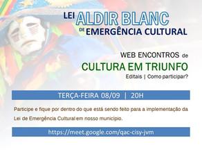 Web Encontro de Cultura em Triunfo