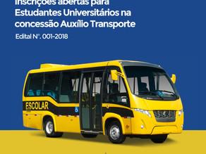 Prefeitura de Triunfo abre inscrições para estudantes universitários na concessão auxílio transporte