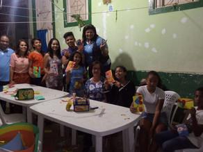 Oficinas de Cortes e Recortes para os adolescentes das Casas Populares de Triunfo