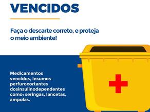 Atenção: coleta de medicamentos vencidos