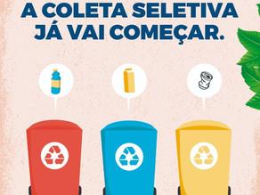 Separe o lixo: a coletiva seletiva já vai começar!