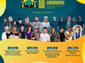 Prefeitura de Triunfo divulga programação da 60ª Festa dos Estudantes