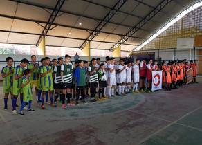 2º Campeonato de Futsal categoria Pré-Mirim e Mirim de Triunfo teve sua abertura neste domingo (08)