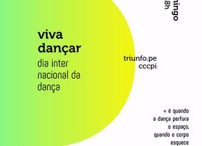 Cia De Lá Pra Cá realizará programação com espetáculos de dança neste domingo (29) em Triunfo