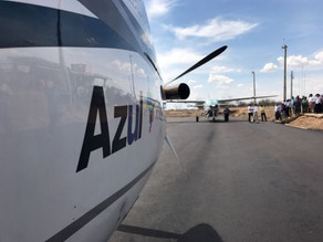 Prefeito de Triunfo estará no primeiro voo experimental da Azul entre Recife e Serra Talhada