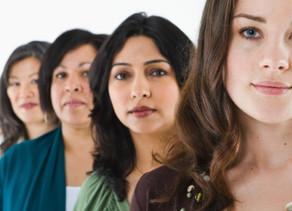 Mulheres ainda longe do poder