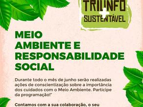 """Prefeitura de Triunfo promove o """"Triunfo + Sustentável"""" com ações de conscientização sobre"""