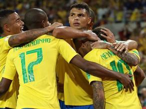 Brasil aposta na defesa e no quarteto contra o México