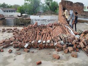 Tempestades de areia deixam 98 mortos na Índia