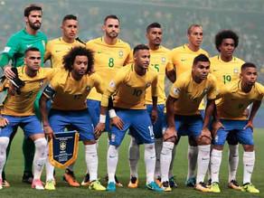 Sete estados têm representantes na Seleção Brasileira que jogará a Copa da Rússia