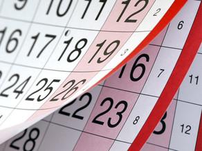 Brasileiros terão menos feriados prolongados em 2019; confira lista