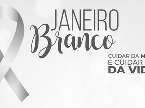 """Campanha """"Janeiro Branco"""" faz alerta sobre a saúde mental"""