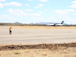 Primeiro voo experimental da Azul entre Recife e Serra Talhada pousa com sucesso na capital do xaxad