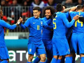 Seleção Brasileira já está na Rússia