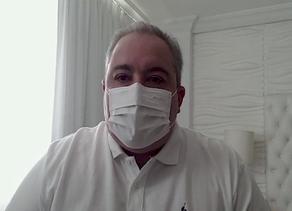 Após testar positivo para coronavírus, secretário estadual de saúde reforça importância do isolament