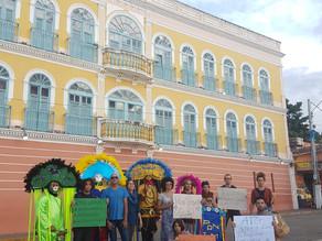 Artistas triunfenses realizam mobilização contra ADPF 293
