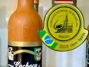 Cachaça Triumpho conquista medalha de ouro em Concurso Mundial de Bruxelas Brasil 2018