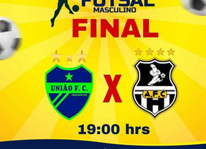 Final do Campeonato Municipal de Futsal Masculino será realizada neste sábado (02)