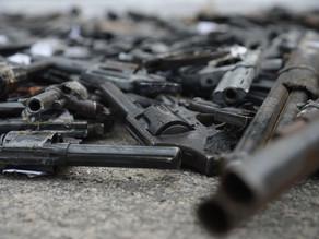 Armas de fogo são causa de morte em 71% dos homicídios no Brasil