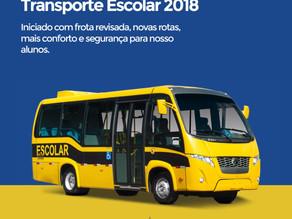 Prefeitura de Triunfo melhora o transporte de alunos com novas rotas e frota revisada