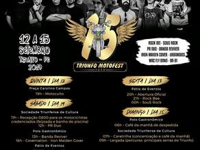 15º Triunfo Moto Fest começa nesta quinta-feira (12)