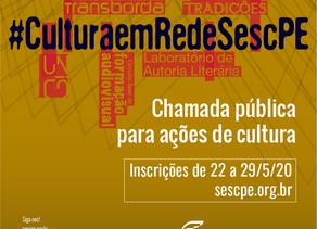 Sesc abre chamada pública para ações de cultura e contratação para acessibilidade com investimento t