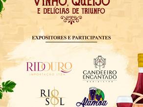 Conheça um pouco sobre os expositores do Festival de Vinhos, Queijos e Delícias de Triunfo