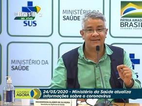Ministério da Saúde anuncia 2.201 casos do coronavírus no Brasil