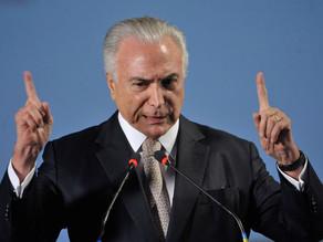 Temer diz que brasileiros vão evitar populismo e se esquiva sobre candidatura