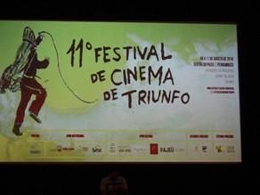 11º Festival de Cinema de Triunfo realiza sua abertura e leva exibições especiais a outras regiões d
