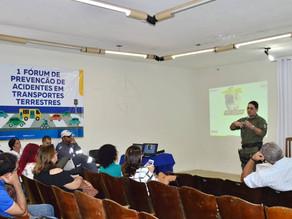 Prefeitura de Triunfo realiza 1º Fórum de Prevenção de Acidentes em Transportes Terrestres