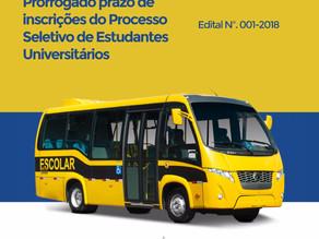 Prefeitura de Triunfo prorroga prazo de inscrições do Processo Seletivo de Estudantes Universitários
