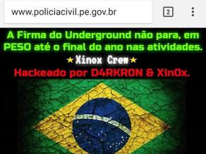 Site da Polícia Civil de Pernambuco é hackeado